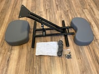 Ergonomic Kneeling Chair - Adjustable Stool for Home and Office, Gray Las Vegas