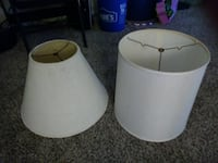 Lamp shade on right