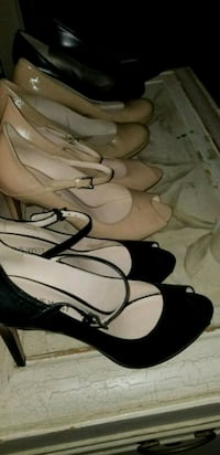 $10 each Nine West and Naturalizer shoes Size 7.5