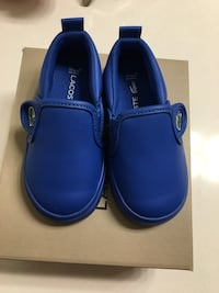 Pair of blue leather slip-on shoes Rockville, 20850
