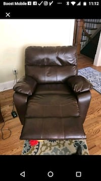 brown leather recliner sofa chair Norcross, 30071