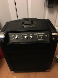 ION Speaker Box with Microphone input and Auxiliary Hamilton, L8R