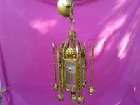gold-colored and white pendant lamp Fort Erie, L0S 1N0