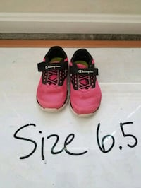 Champion sneakers, pink, toddler size 6.5