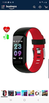 Activity Tracker, Heart Rate/Blood Pressure/Pedometer, NEW 1/2 PRICE