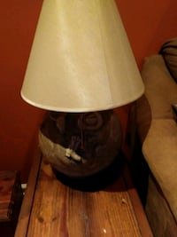 brown and white table lamp Smyrna, 37167