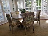 """Good's Furniture; Charlotte. 60"""" Round Dining Table. Mint Condition; Never Used. Charlotte, 28202"""