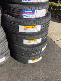 225/65R17 SET OF 4 TIRES ON SALE WE CARRY ALL MAJOR BRAND AND SIZE  2387 mi