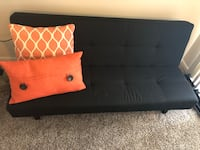black and brown wooden bed frame Houston, 77056
