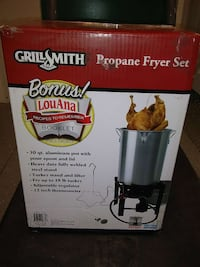 Grill Smith Propane Fryer Set box