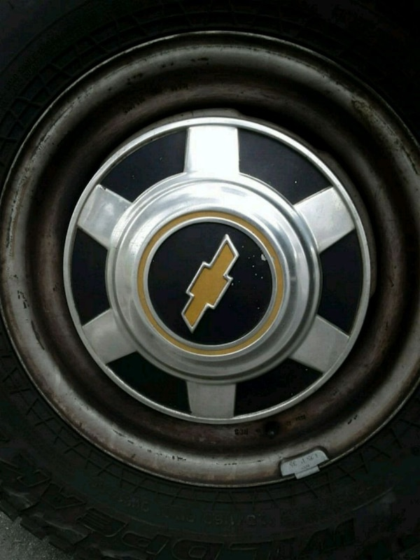 3 Chevy Vintage Dog Dish Hubcaps