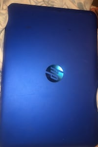 Hp blue laptop (no charger)