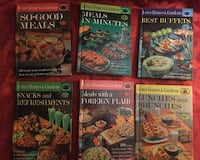 Vintage Cook Books -11 books included -  Better Homes and Gardens