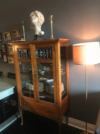 Antique glass cabinet  Toronto, M2K 0B9