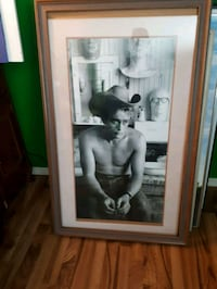 James dean poster framed  Edmonton, T5N 3A1