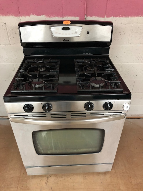 Maytag stainless steel gas stove