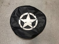Jeep JK spare tire cover - covered LT 255/75r17 (or similar size) Centreville, 20121