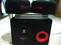 300 w RMS, 800 W MAX, 20 CM SUBWOOFER