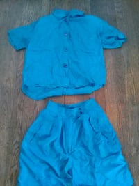 PRICE IS  FIRM! Juniors' silk short set sz small  Halethorpe, 21227