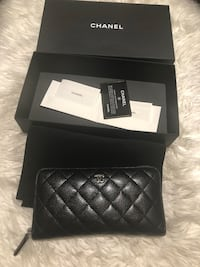 Authentic Chanel wallet Mississauga, L5V 1M2