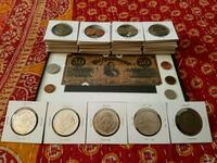 Full coin collection and framed note Hickory, 28601