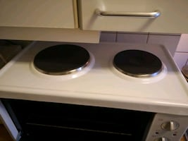 Oven with 2 burners 2200W