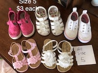 Baby/toddler size 5 shoes 178 mi