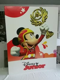 Huge Toys R Us Disney Junior end cap topper sign Selden, 11784