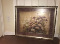 brown wooden framed painting of flowers Elizabeth, 07202