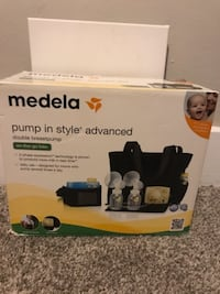 Medela on the go double breast pump