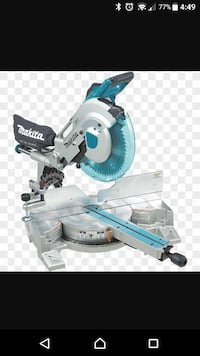 "Makita 12"" Dual Slide Compound Miter Saw"