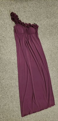 2 Plum one shoulder dresses for each 35 Highland, 46322