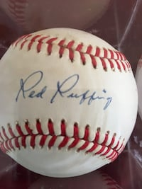Red Ruffing Autographed baseball
