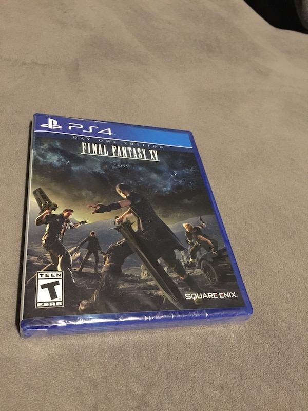 548ea5ff62b Used PS4 Final Fantasy XV day one edition for sale in Oakley - letgo