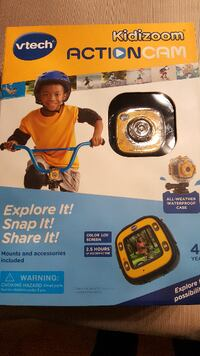 Vtech kids go-pro camera. Great for the holidays.  Halethorpe