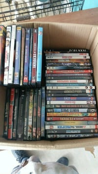 assorted DVD movie case collection Fort Myers, 33905
