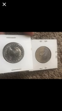 7 Susanne B. Anthony coins