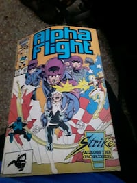 Alpha flight comic
