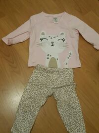 Cute cat long sleeve set Richmond, V6Y 2S1