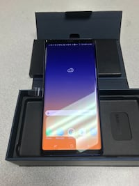 Samsung Galaxy Note 9 (Sprint Carrier) with blue back. (Brand New) Marietta, 30060