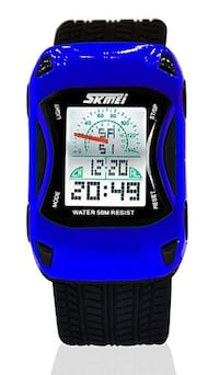 New Race Car Themed Digital Watches (blue/yellow/red) Toronto