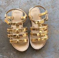 Gymboree gold bow toddler sandals West Covina, 91791