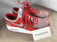 Kids NIKE Air Max Zero Essential PS Excellent Condition Youth Size 2.5 Chesapeake, 23320