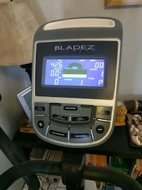 black and gray Bladez exercise equipment control panel Toronto, M6J 3E3