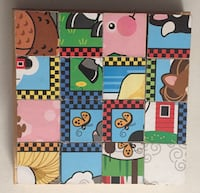 Melissa and Doug wooden cube puzzle Mississauga, L5E 2X1