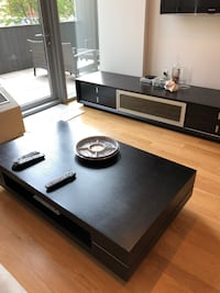 Modern Italian coffee table and entertainment center  45 km