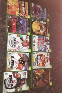 Microsoft Xbox games,20 dollars for all the games Woodbridge, 22193