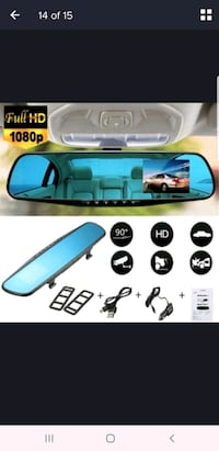 Rear view mirror dash cam Markham