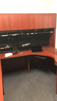 Office furniture for sale! Worth over $3500 mohangany colour Toronto, M3N 1H5