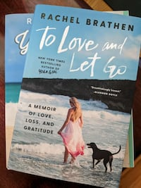 To Love and Let Go by Rachel Brathen (aka YogaGirl) - signed hard copy Watertown